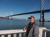 Duane & the Bay Bridge - Along the Embarcadero, San Francisco