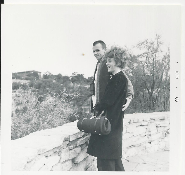 sandy and  georgedec 1963