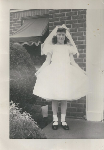 sandy first communion day may 17 1953