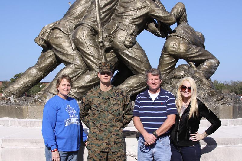 Sandy, Kasey, Rick, and Kristin
