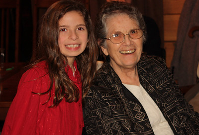 Maryssa and Grandma Margaret