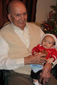 Grandpa Sano & Liam 2011