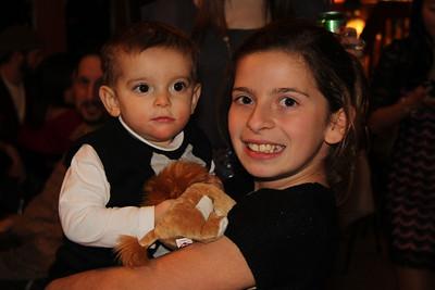 Jack with cousin Maryssa ~ Christmas 2012