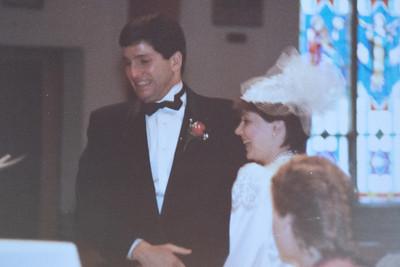 Debbie & Bill's Wedding 1985