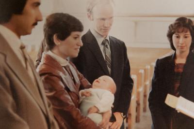 Adam's Christening 1982