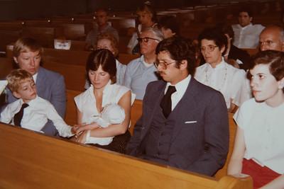 Michael's Christening Day 1984