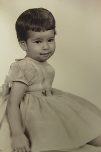Jeannine 1 1/2 Years Old    Aug 1958