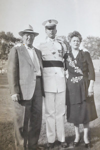 1948 Graduation from CBA   Benedetto, Ben, Anna