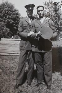 Bill Kelly & Ben Sano 1946