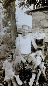 Father Angelo with Ben & Rita 1937