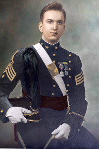 Benjamin Sano - CBA Graduation 1948