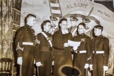 Ben Sano - 2nd from left  CBA 1948