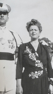 Ben Sano with Mother Anna 1948