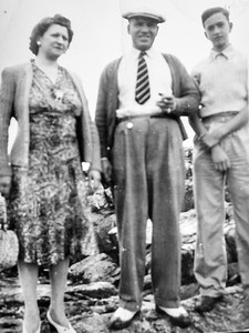 Boston 1941 - Anna, Angelo, Ben