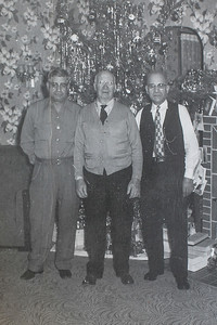 Three Cousins - Angelo, Beni (Father of Angelo) and John