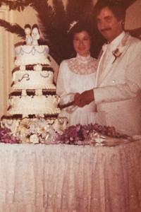 Jeannine & Pete's Wedding 1982