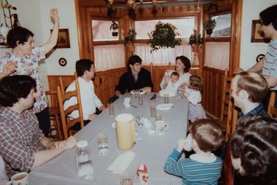 Ruth & Paul's birthday 1985