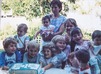 Michael's 1st Birthday 1985