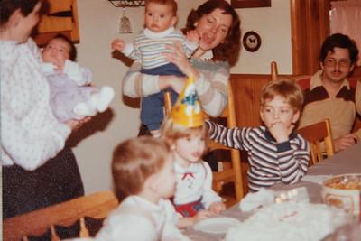 Marisa's 4th Birthday 1985