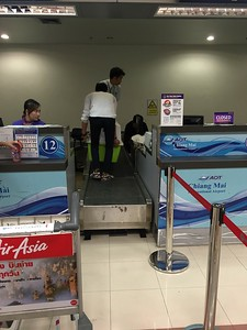 20 September 2017 - Checking in in Chiang Mai