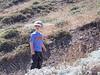 Henry hiking to Potato Harbor