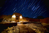 Santa Fe Star Trails - 12-16-2012