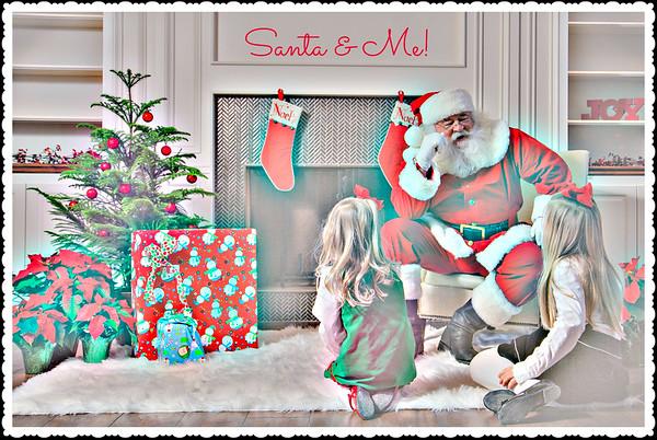 Santa & The Miller Girls (2014)
