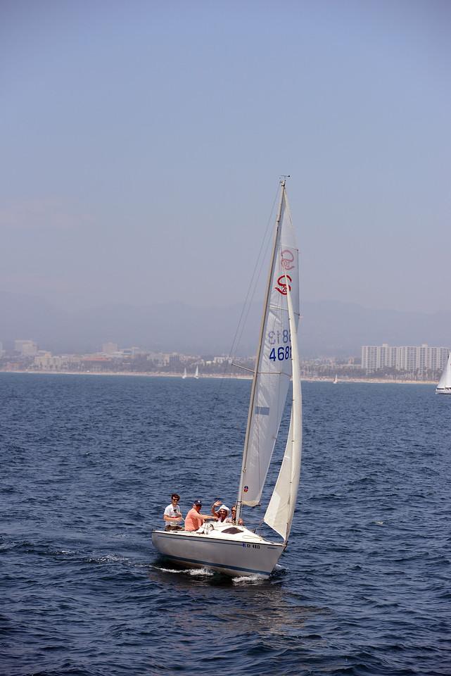 King of Spain Regatta, Sunday July 14, 2013, Marina del Rey, CA.