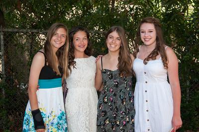 Nicole, Kelsey and Sara
