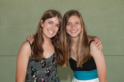 Sara and Kelsey