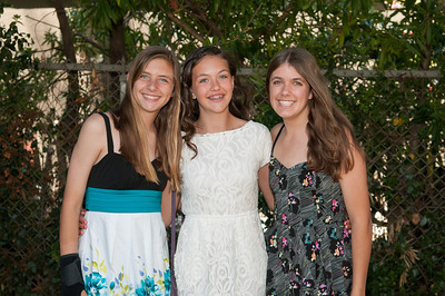 Sara, Evelyn and Kelsey