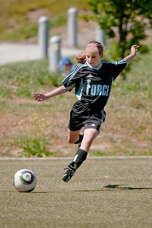Sara Soccer - Spring 2010