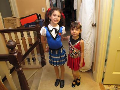 Sara and Liora 5-23-2010