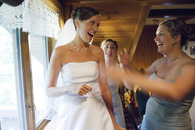 Sarah and Justin's Wedding-  Preceremony, May 27, 2007