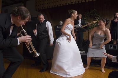 Sarah and Justin's Wedding-  The Reception  May 27, 2007