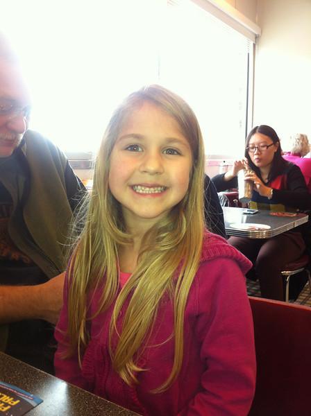 Sarah's daughter Tiffany (6)