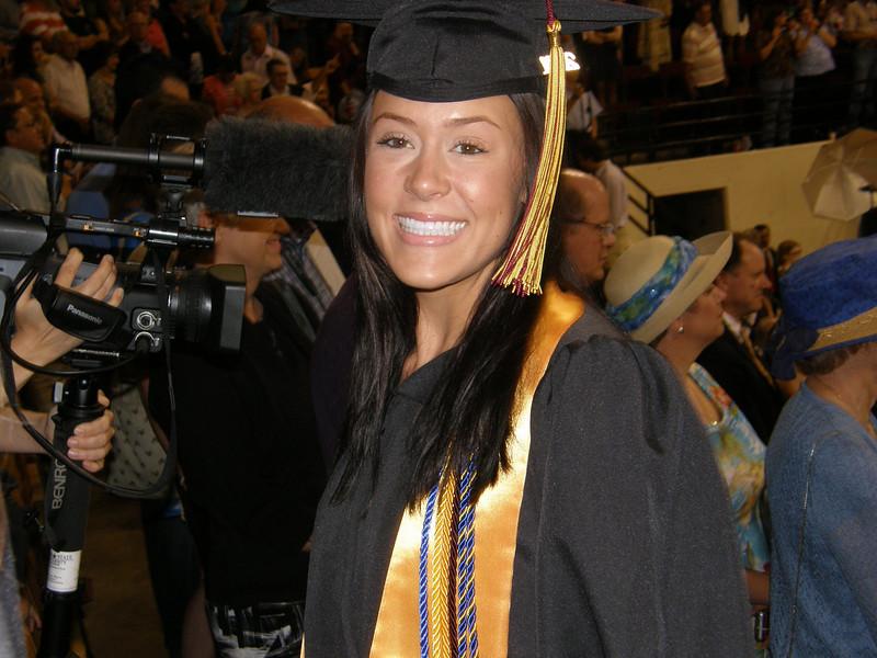 Sarah Jane!  Graduated!   Summa cum laude!
