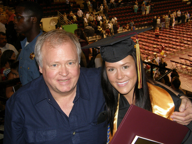 Dad and Sarah Jane!