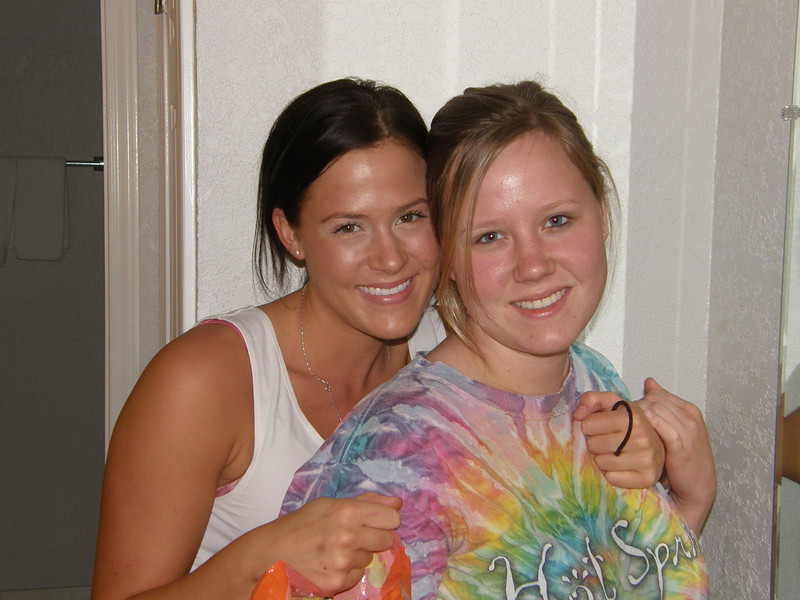 The Humphries sisters.  What sweetie pies!  Sarah and Katie.