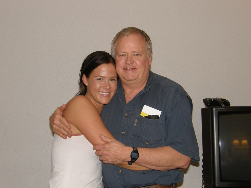 Sarah and her daddy, Ronnie.