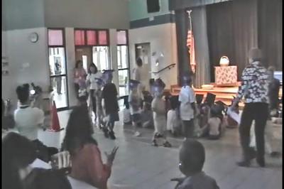 2008-06-03 Kindergarten graduation ceremony