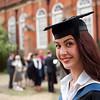 Sarah at her graduation (Reading University)