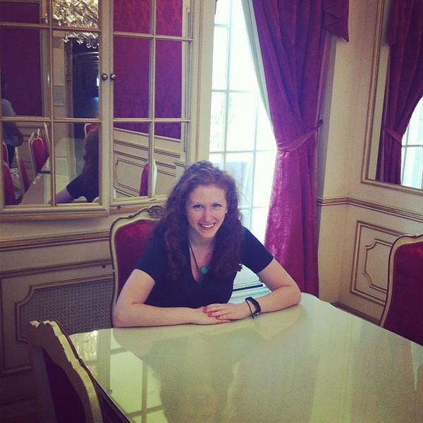 An Austrian princess.  July, 2012.