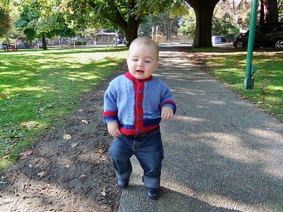 Saturday morning at Beacon Hill Park - September 2012