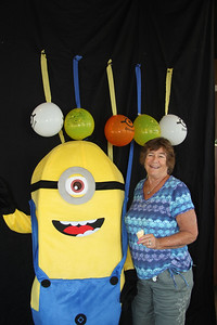 Judi with Stuart Minion