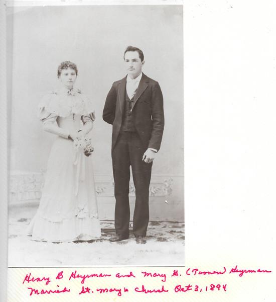 Mary G (Toonen) & Henry B Heyrman
