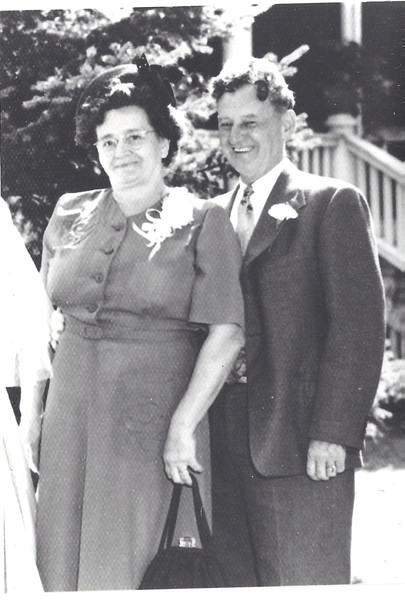 Grandma Philomene & Grandpa John Allcox