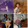 1979-10 Patricia at CMSU in Autumn - Uncle Bert at Xmas 1980 - Thea and Jon in Spring 1981