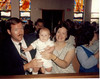 1987-05 Andrew Baptism with Harry and Patricia