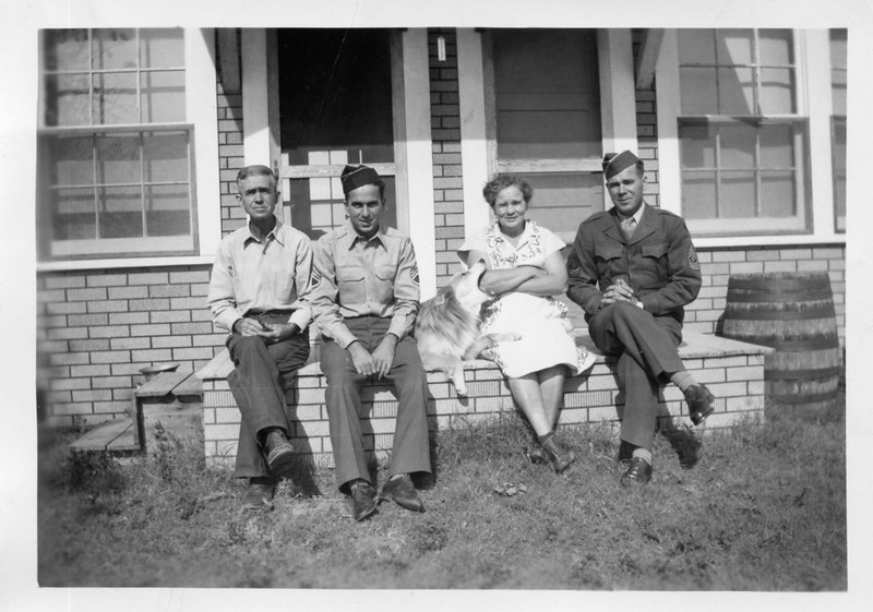 Grandpa George McAllister, Not Sure? maybe Uncle Sam, Grandma Susie McAllister, Uncle Jim.